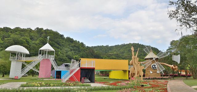 【2021宜蘭綠色博覽會開跑】14個裝置藝術展區登場,希望城堡、巨型藍鯨不可錯過!