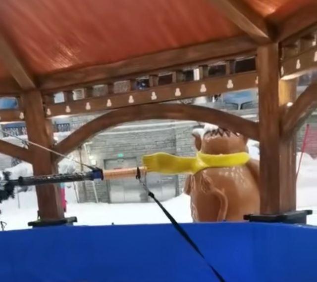 Three Bear Ice and Snow Kingdom Ice Sculpture Hall