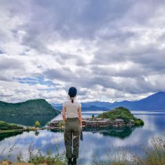Lugu Lake Viewing Platform User Photo
