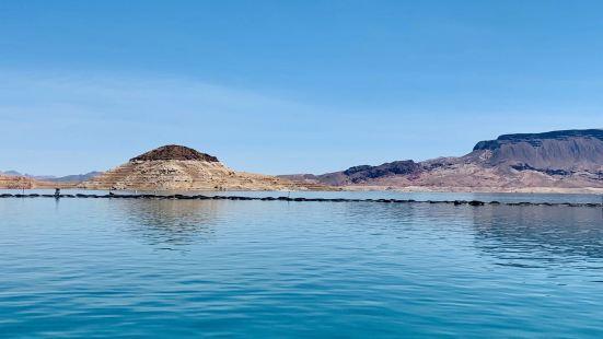 【景色】之前某人天天念叨著要去Lake mead釣魚🎣,今