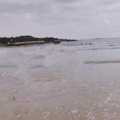 야커우 해변 여행 사진