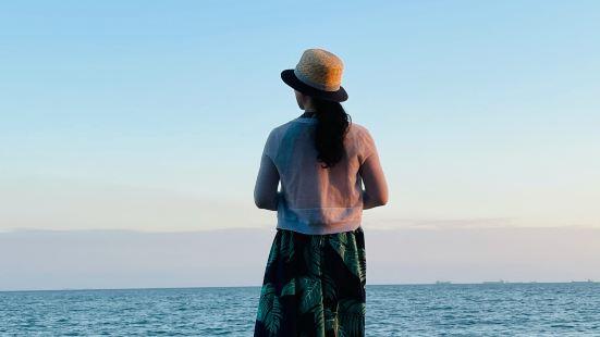 金银岛景色优美,风景宜人,空气清新,自然、舒适,温度舒适,令