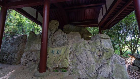 Inscriptior on the Cliffside of Damai Hill
