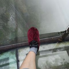 Tianmen Mountain Glass Walkway User Photo