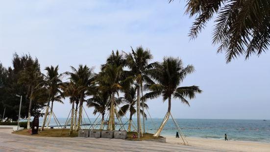 巽寮湾位于惠东县南部,金海湾大道旁。它的海水洁净。沙质柔软。