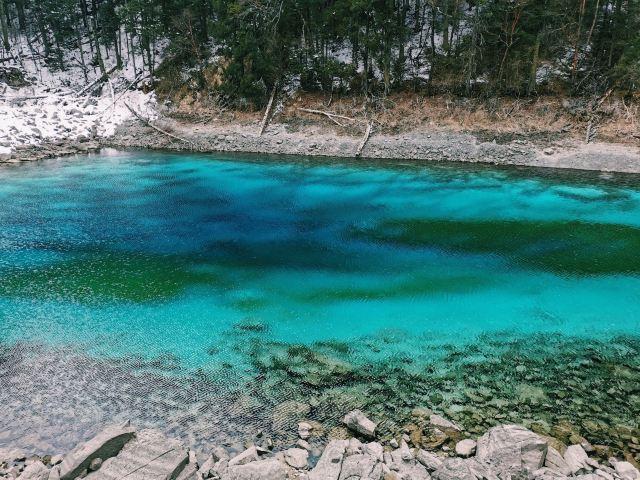 Colorful Pond