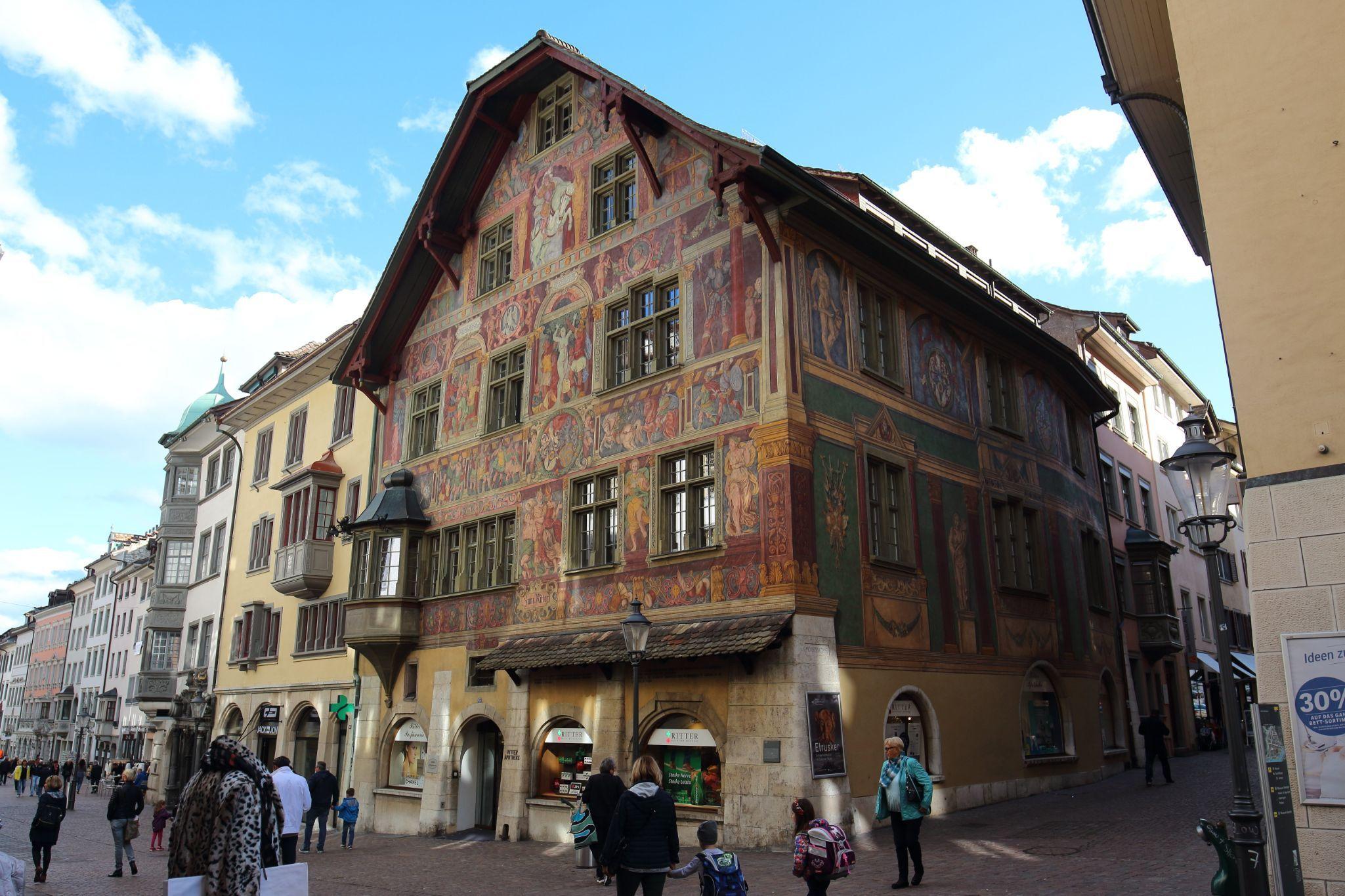 Haus zum Ritter travel guidebook –must visit attractions in Schaffhausen – Haus  zum Ritter nearby recommendation – Trip.com