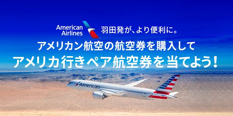 航空 アメリカン