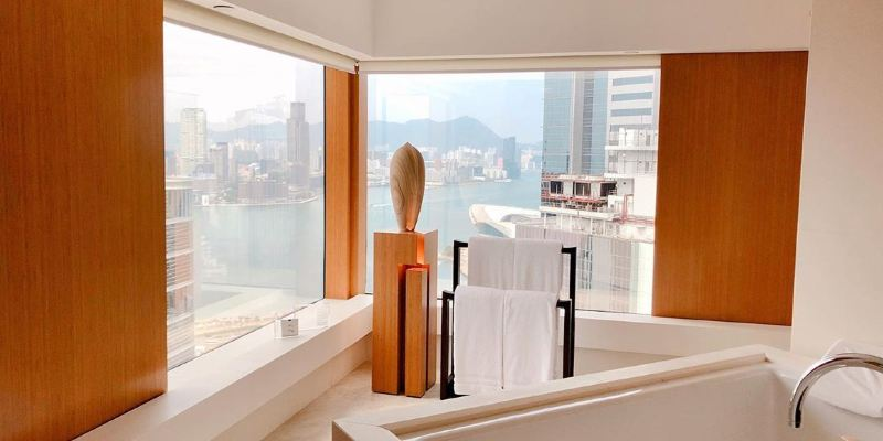 11間香港浴缸酒店推介🛁, 可看海景🌅🌆、打卡影相📷