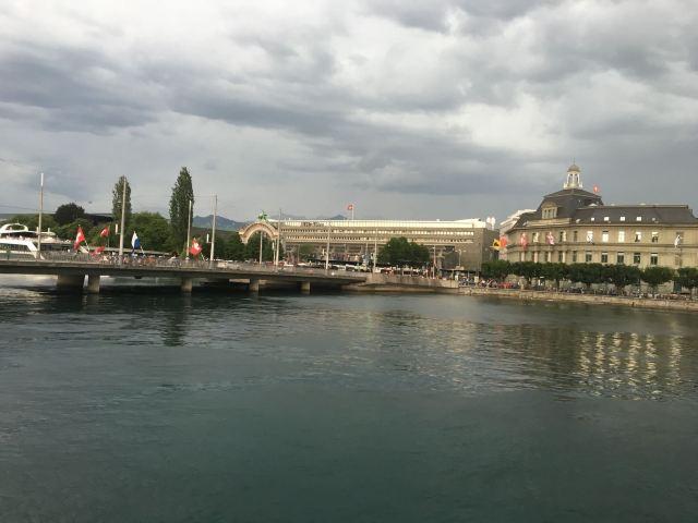 卡佩爾廊橋和八角型水塔