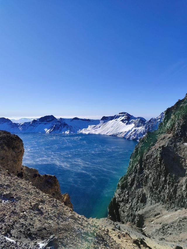 Heaven Lake on Changbai Mountain