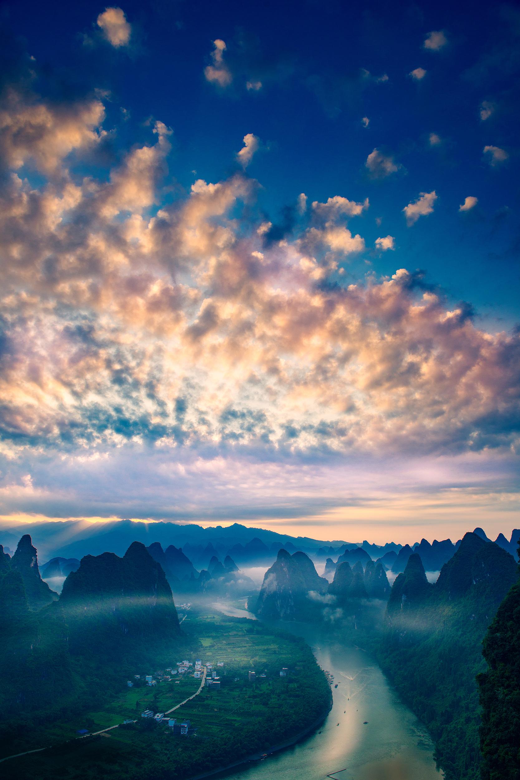 桂林貓兒山