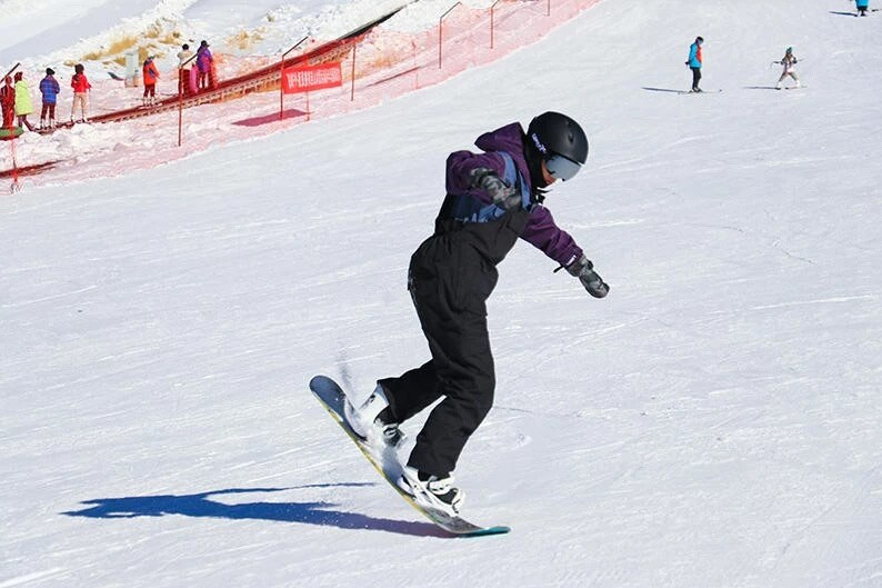 Qilian Mountain International Ski Field