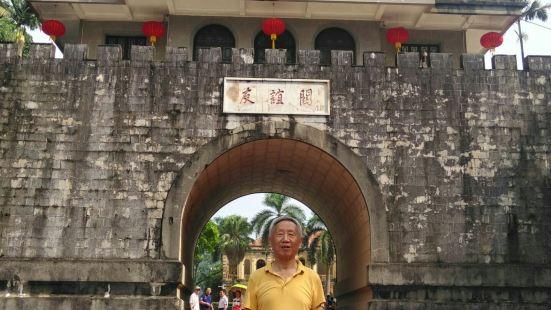 凭祥友谊关是目前还起着通关作用的古代九大名关之一,关名是陈毅
