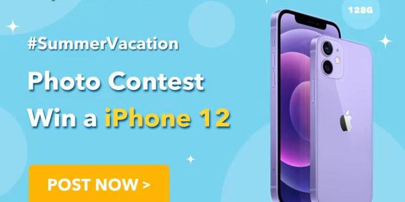 Trip.com #SummerVacation Photo Contest: Win an iPhone 12