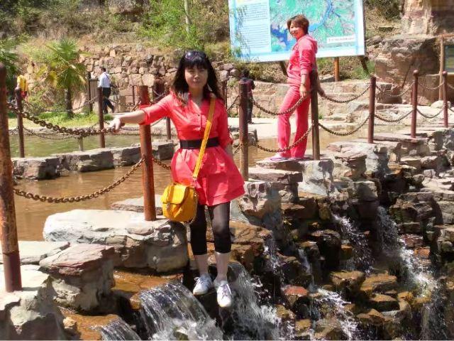 貴德國家地質公園阿什貢七彩峰叢景區