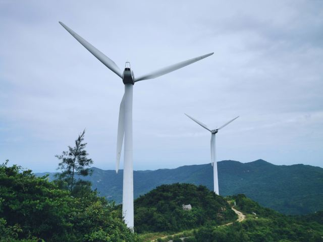 南澳風力發電遊覽區