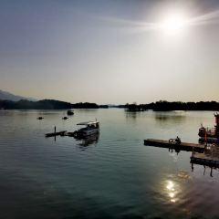 룽수이후 관광 리조트 여행 사진