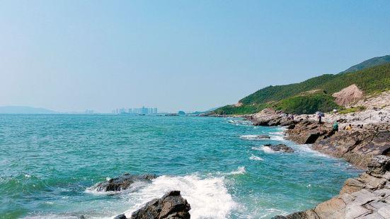 惠东一个免费的景点,之前听说那里的厕所要1块5一个人,但这次