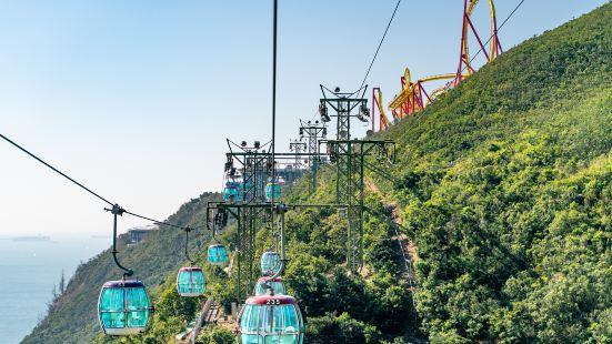香港海洋公園登山纜車