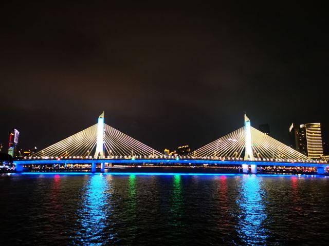 Guangzhou Tower Pier Night Tour