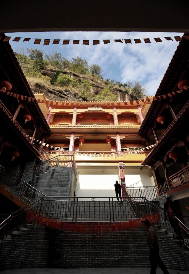 Doujiao Mountain Scenic Area (Qingshou Cliff)