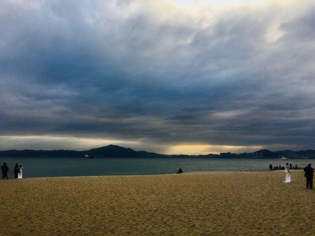 바이청 해변