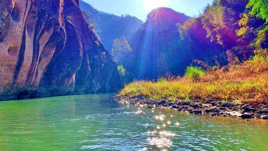 泰宁之旅上清溪是必去景点之一,🏞这里九十九曲、八十八滩,转