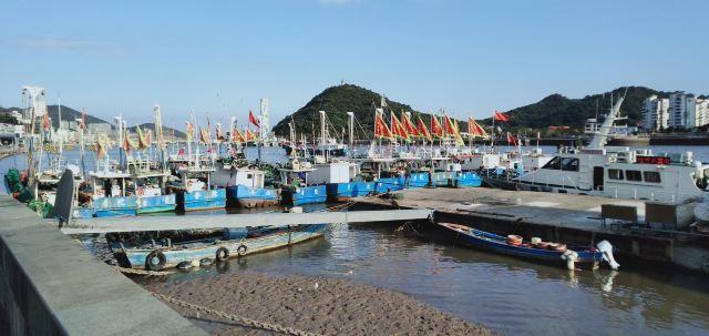 선자먼 낚시 항구