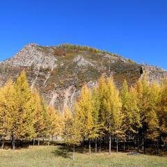 아얼산 시 여행 사진