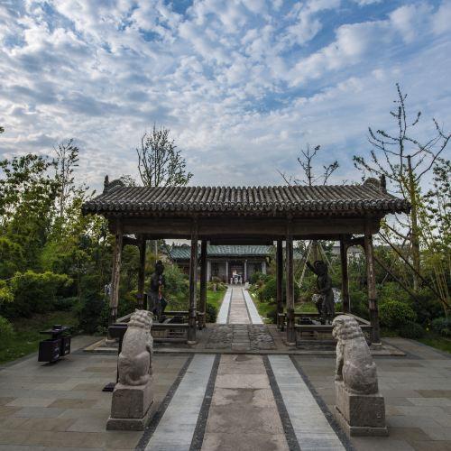 Hancheng Town's God Temple