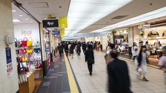 札幌車站地下街徒步區