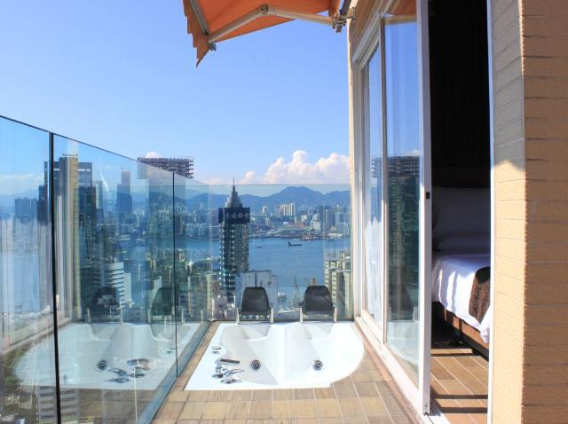 12間香港浴缸酒店推介🛁, 可看海景🌅🌆、打卡影相📷