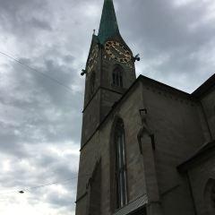 그로스뮌스터 대성당 여행 사진