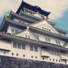 오사카 성 천수각 여행 사진