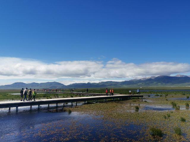 若爾蓋花湖生態旅遊區