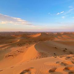 騰格里沙漠月亮湖用戶圖片