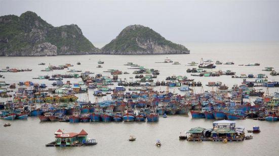 HaiPhong City is a major port