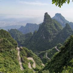 중국 텐먼산 통천대도 여행 사진