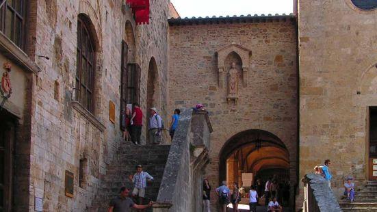 圣吉米尼亚诺是佛罗伦萨西南的托斯卡纳的意大利山城。 它的老城