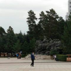 징기스칸 광장 여행 사진