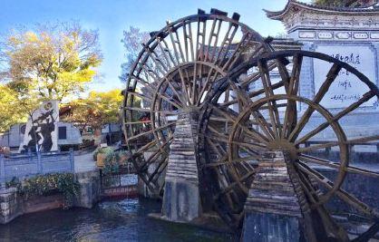 古城大水車