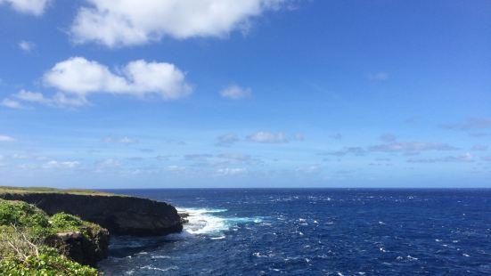 一处非常陡峭的悬崖,二战时日军曾在这里逼迫当地人跳崖,现在算