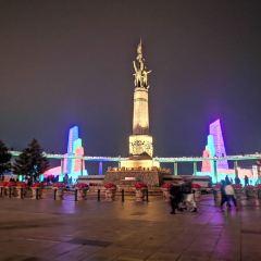 방홍(팡훙) 기념탑 여행 사진