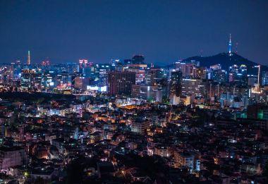 서울에서 예쁜 노을을 만날 수 있는 곳 낙산공원