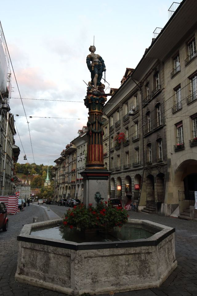 正義女神噴泉
