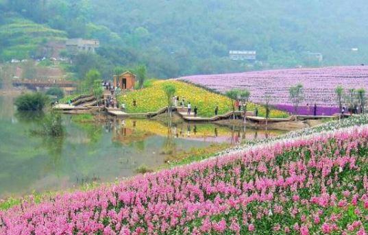 Qingxi Valley Tourist Area • Huatian Wineland Scenic Area