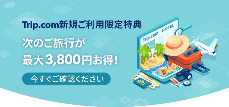 Trip.comのクーポンコード・割引キャンペーン 一覧
