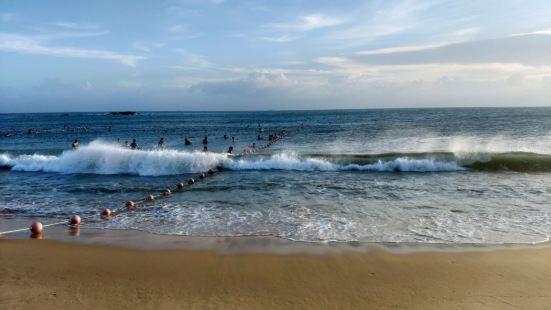 """我敢保证红海湾是最干净的海滩,红海湾被视为""""潮汕门户,环珠重"""