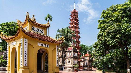 Tran Quoc Pagoda Hanoi, the ol